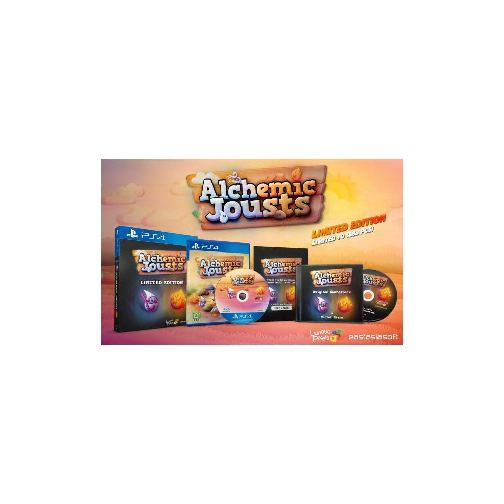 ALCHEMIC JOUSTS LIMITED EDITION PS4 ASIAN NEW
