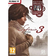 SYBERIA 3 DAY ONE EDITION AVEC LE 1 ET 2 PC FR NEW