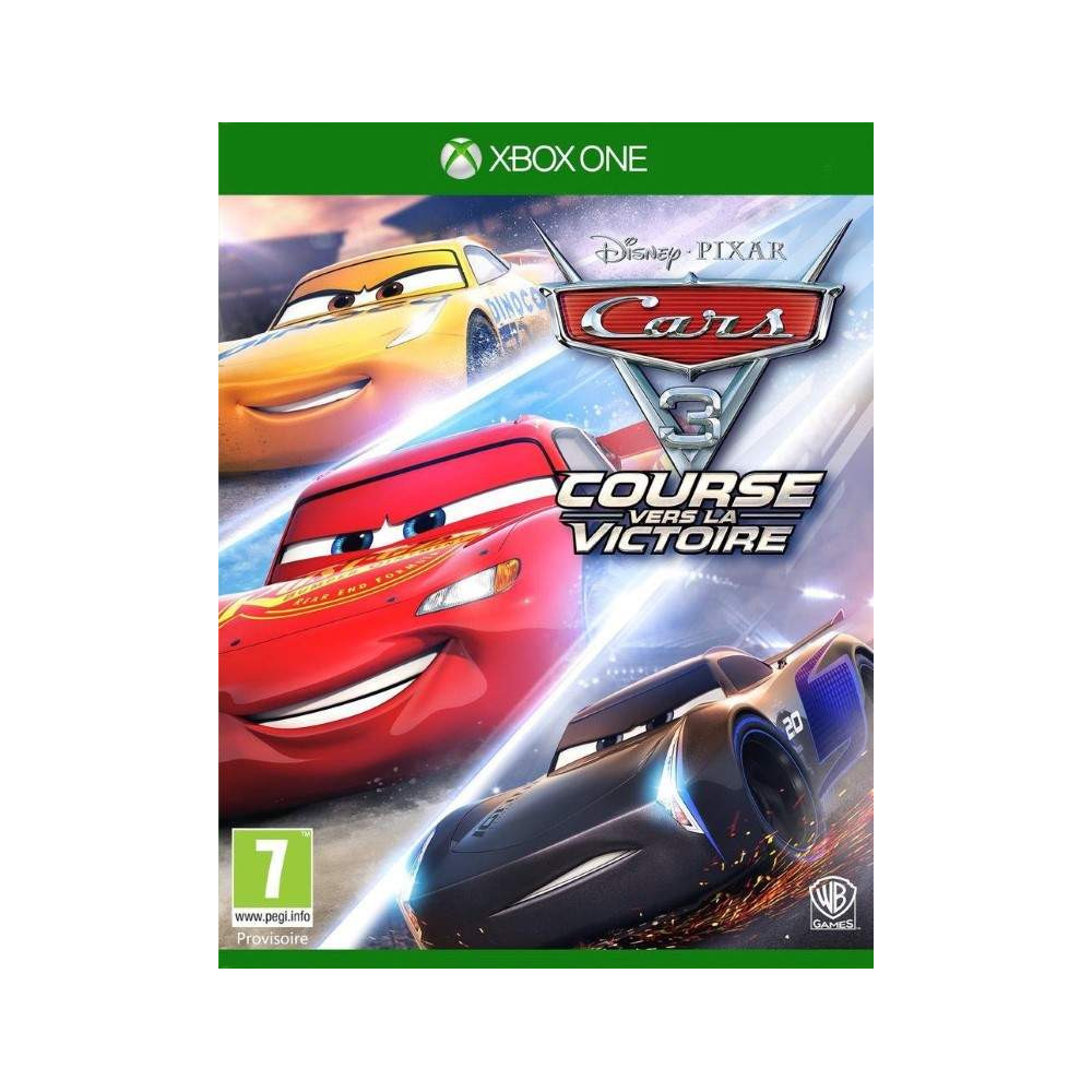CARS 3 DRIVEN TO WIN XBOX ONE UK NEW