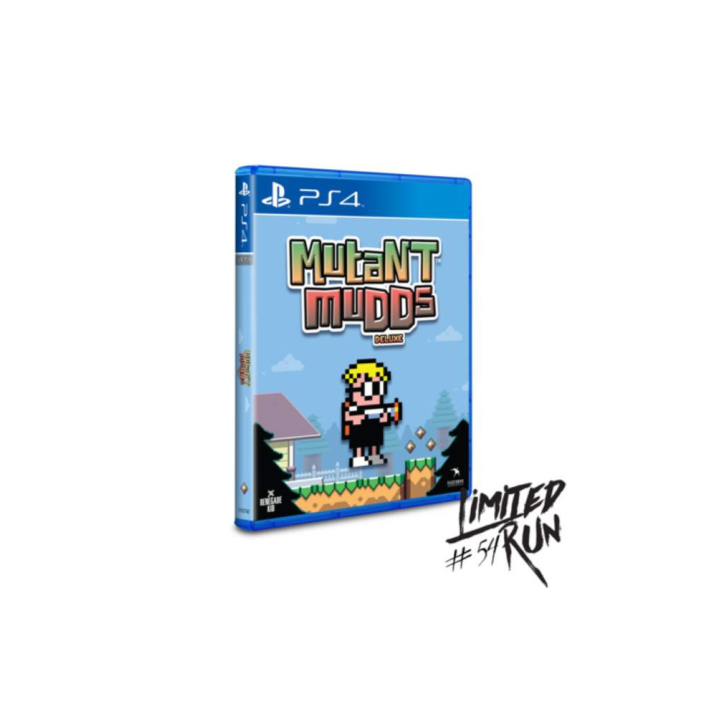 MUTANT MUDDS DELUXE PS4 ALL NEW