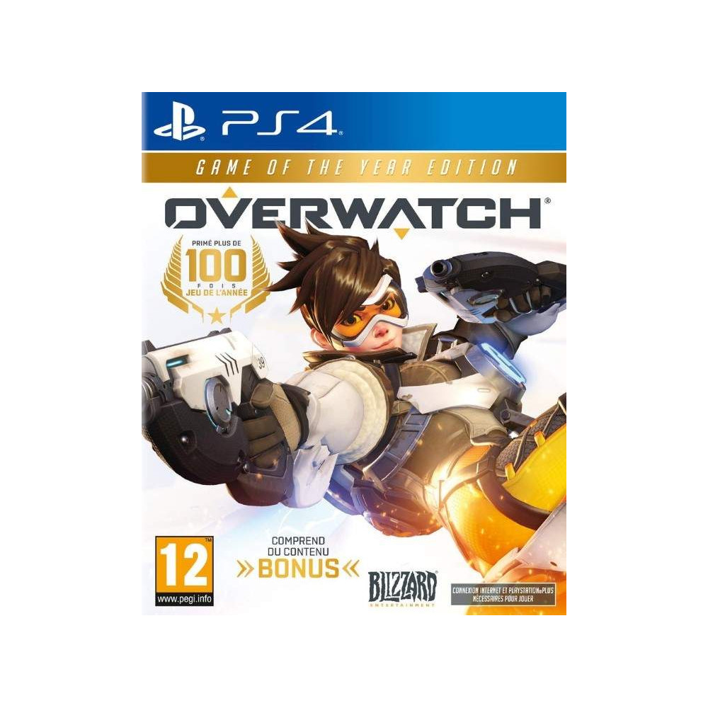 OVERWATCH GAME OF THE YEAR EDITION PS4 FR NEW