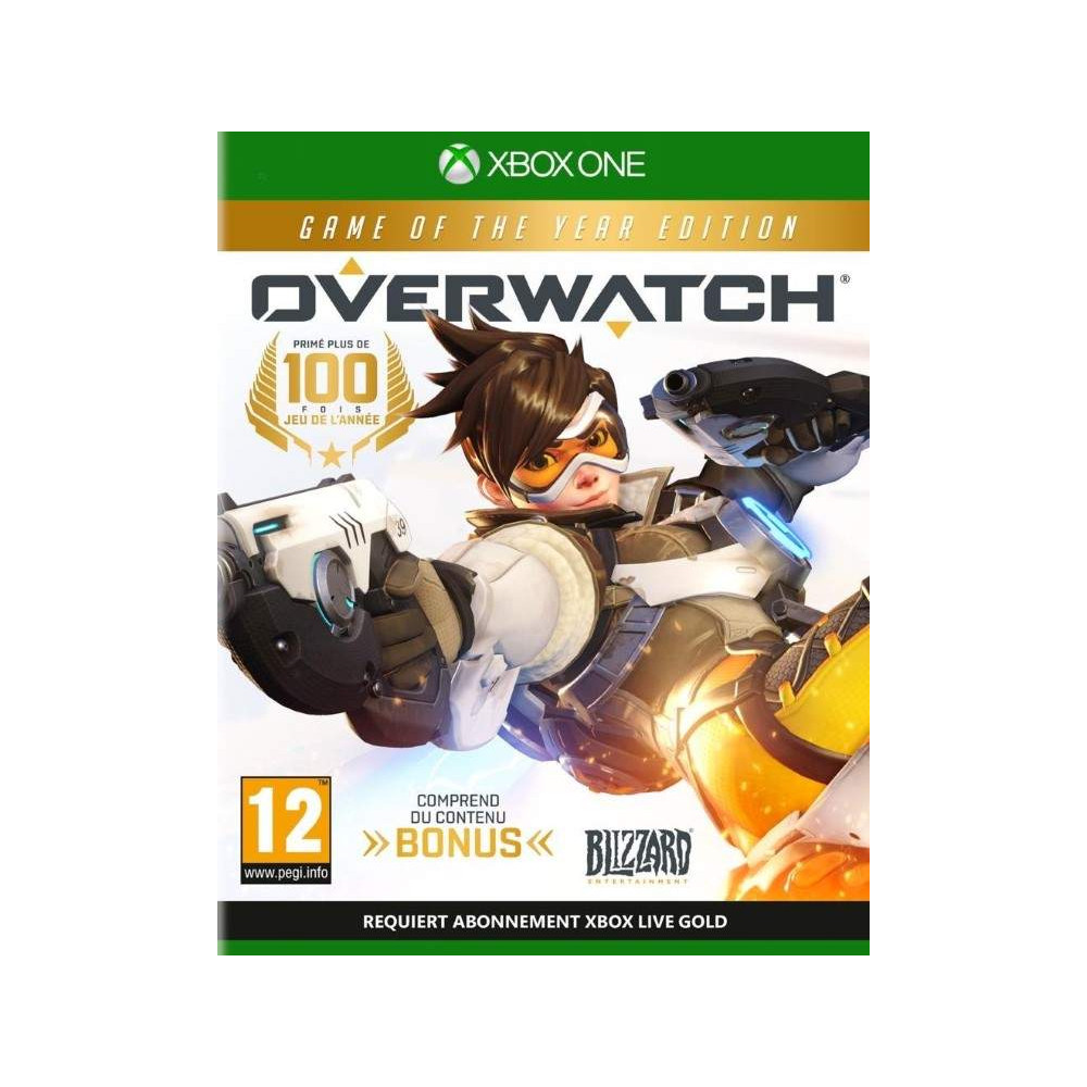 OVERWATCH GAME OF THE YEAR EDITION XONE FR NEW