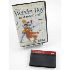 WONDER BOY IN MONSTER LAND MASTER SYSTEM PAL-EURO OCCASION (SANS NOTICE)