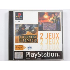MEDAL OF HONOR / MEDAL OF HONOR RESISTANCE PS1 PAL-FR OCCASION