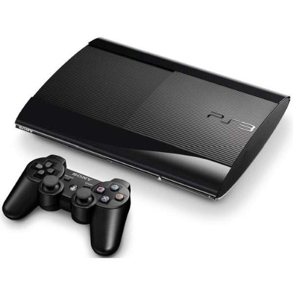 CONSOLE PS3 ULTRA SLIM 500GB NOIRE EURO OCCASION