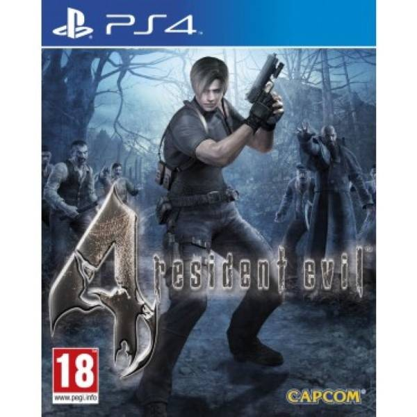 RESIDENT EVIL 4 PS4 FR OCCASION