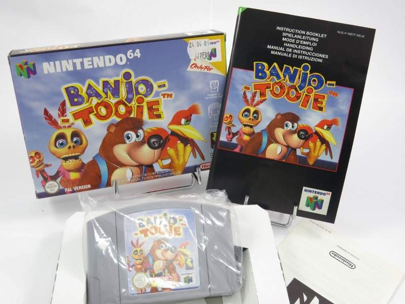 Buy Banjo Tooie N64 Pal Neu6 Fr Occasion Game 65203 Trader Games