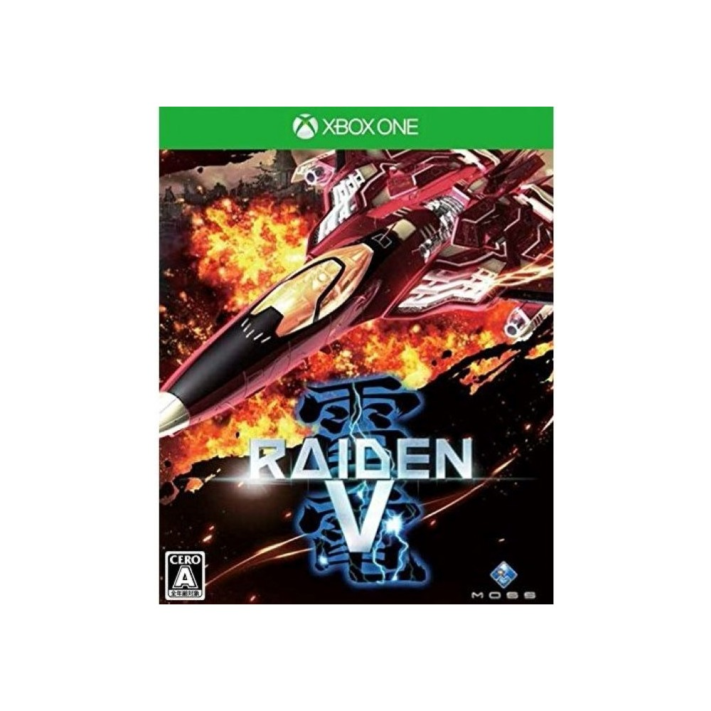 RAIDEN V XBOX ONE JAP NEW