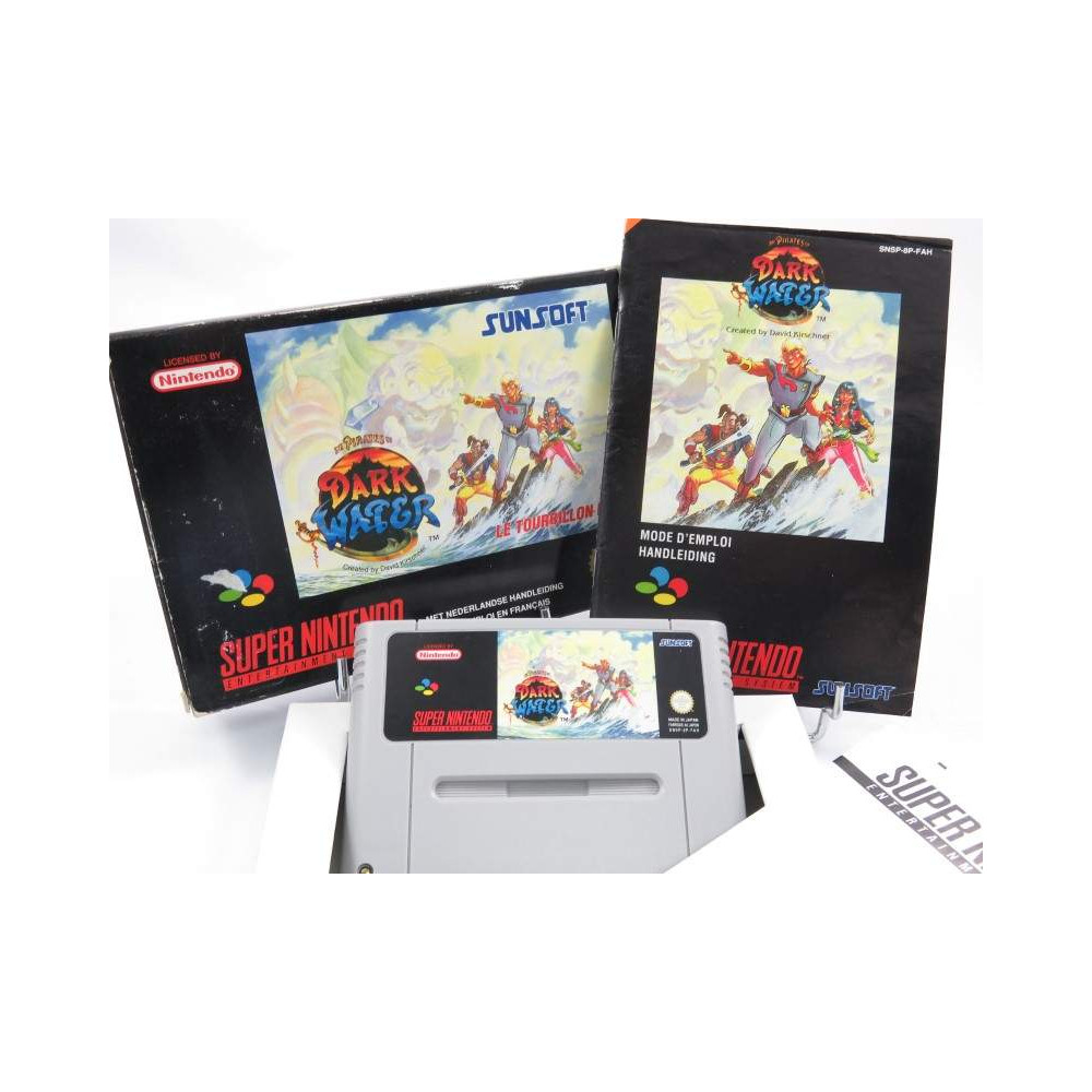 PIRATES OF THE DARK WATER SNES PAL-FAH OCCASION
