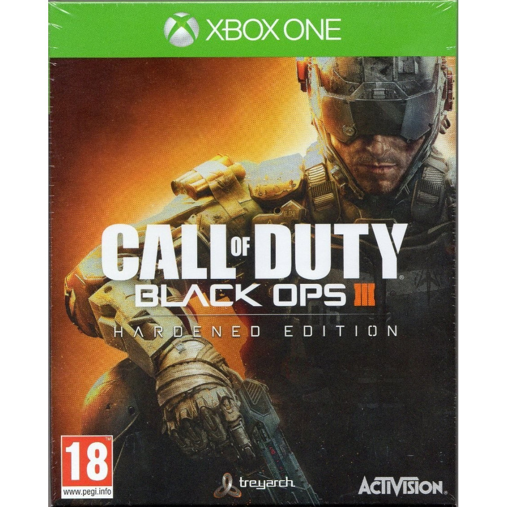 CALL OF DUTY BLACK OPS 3 HARDENED EDITION XONE VF OCC
