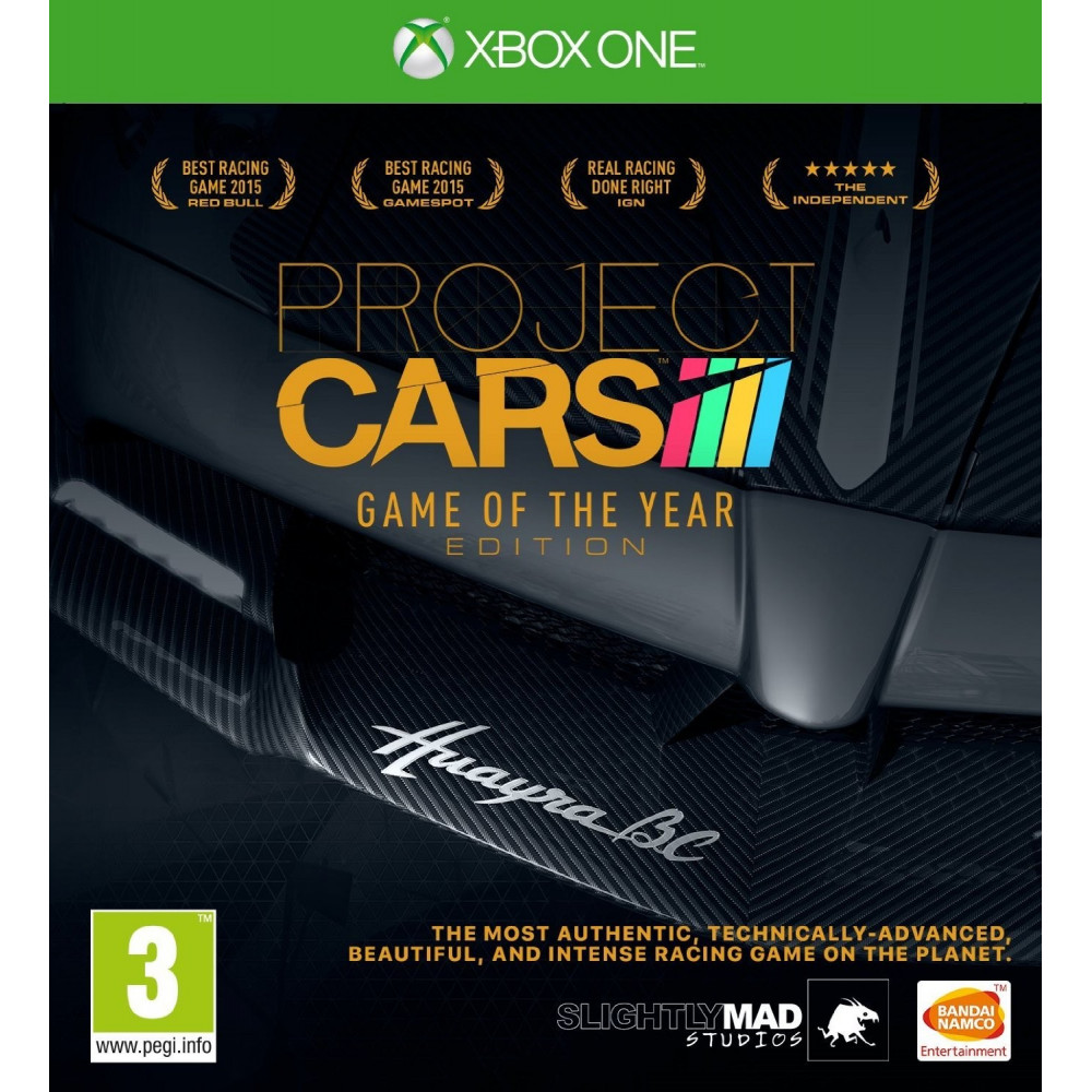 PROJECT CARS GAME OF THE YEAR EDITION XONE UK