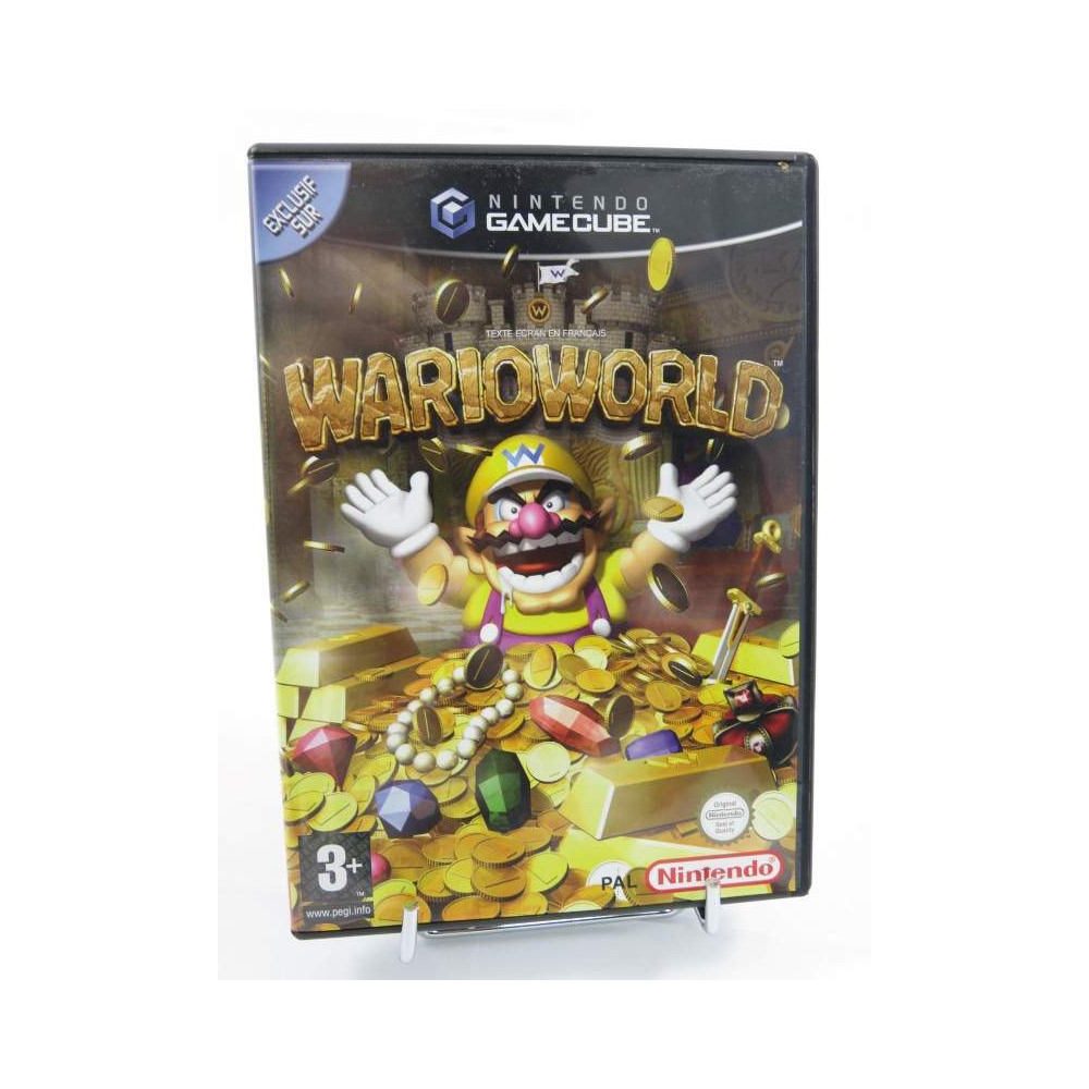 WARIOWORLD GAMECUBE PAL-FRA OCCASION