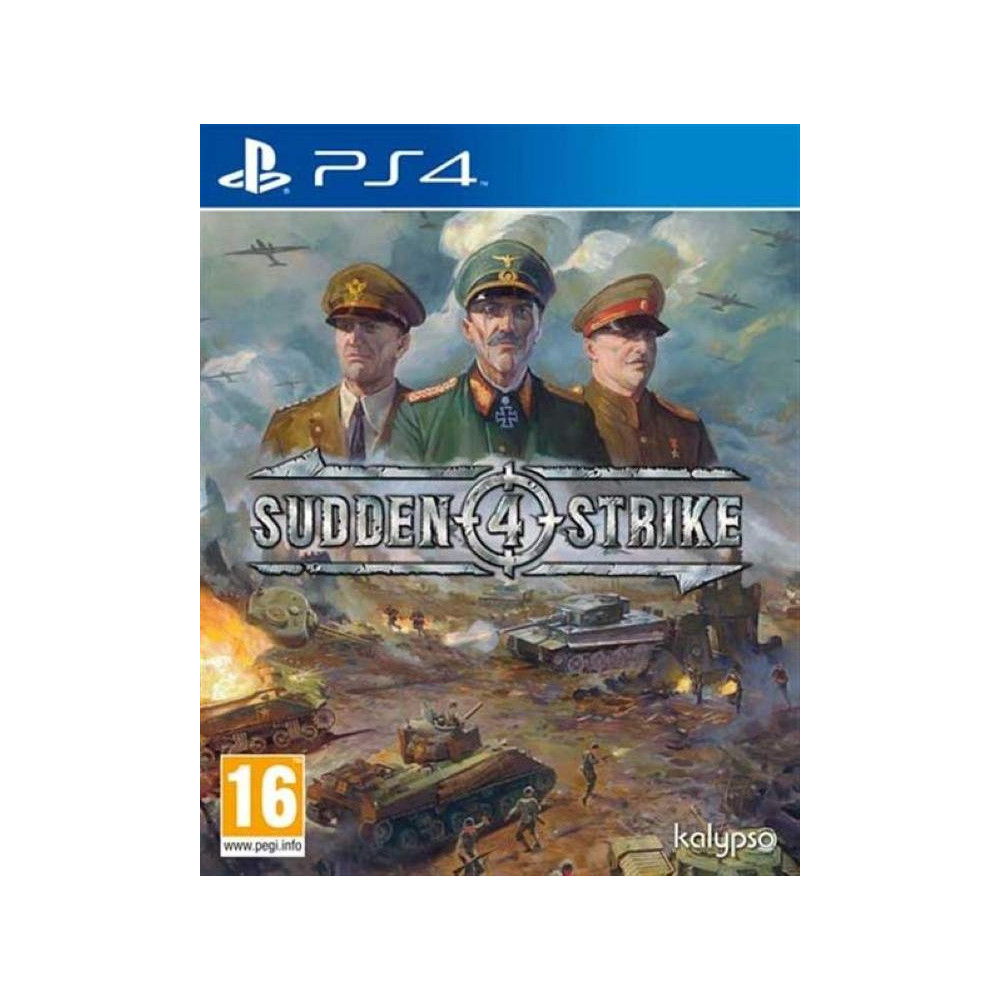 SUDDEN STRIKE 4 PS4 FR NEW