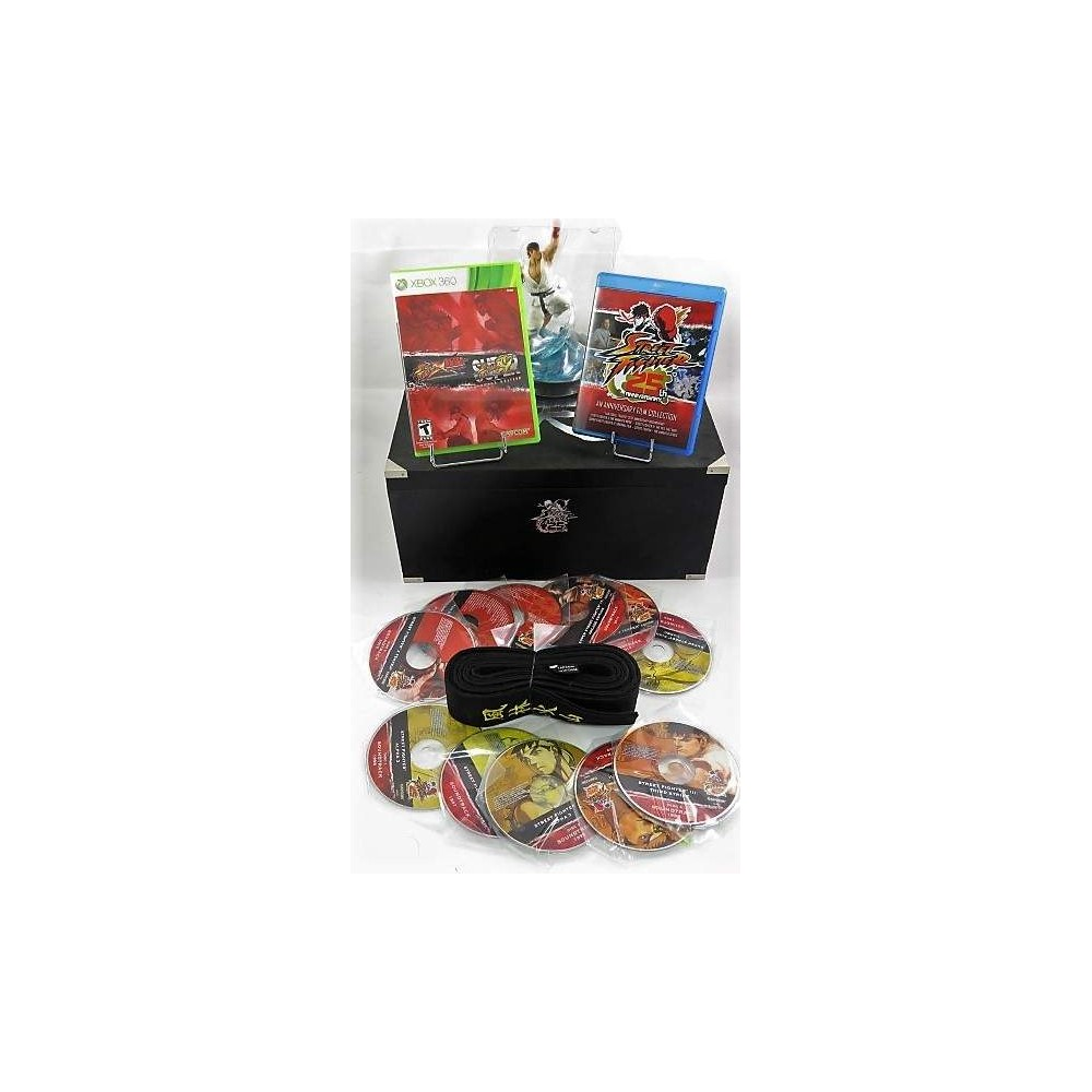 STREET FIGHTER 25 TH ANNIVERSARY COLLECTION XBOX 360 NTSC-US OCCASION