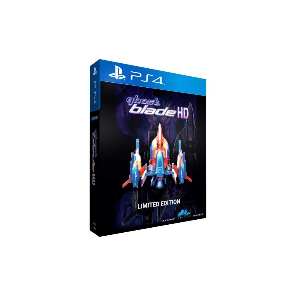 GHOST BLADE HD LIMITED EDITION PS4 ASIAN NEW