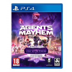 AGENTS OF MAYHEM PS4 UK NEW