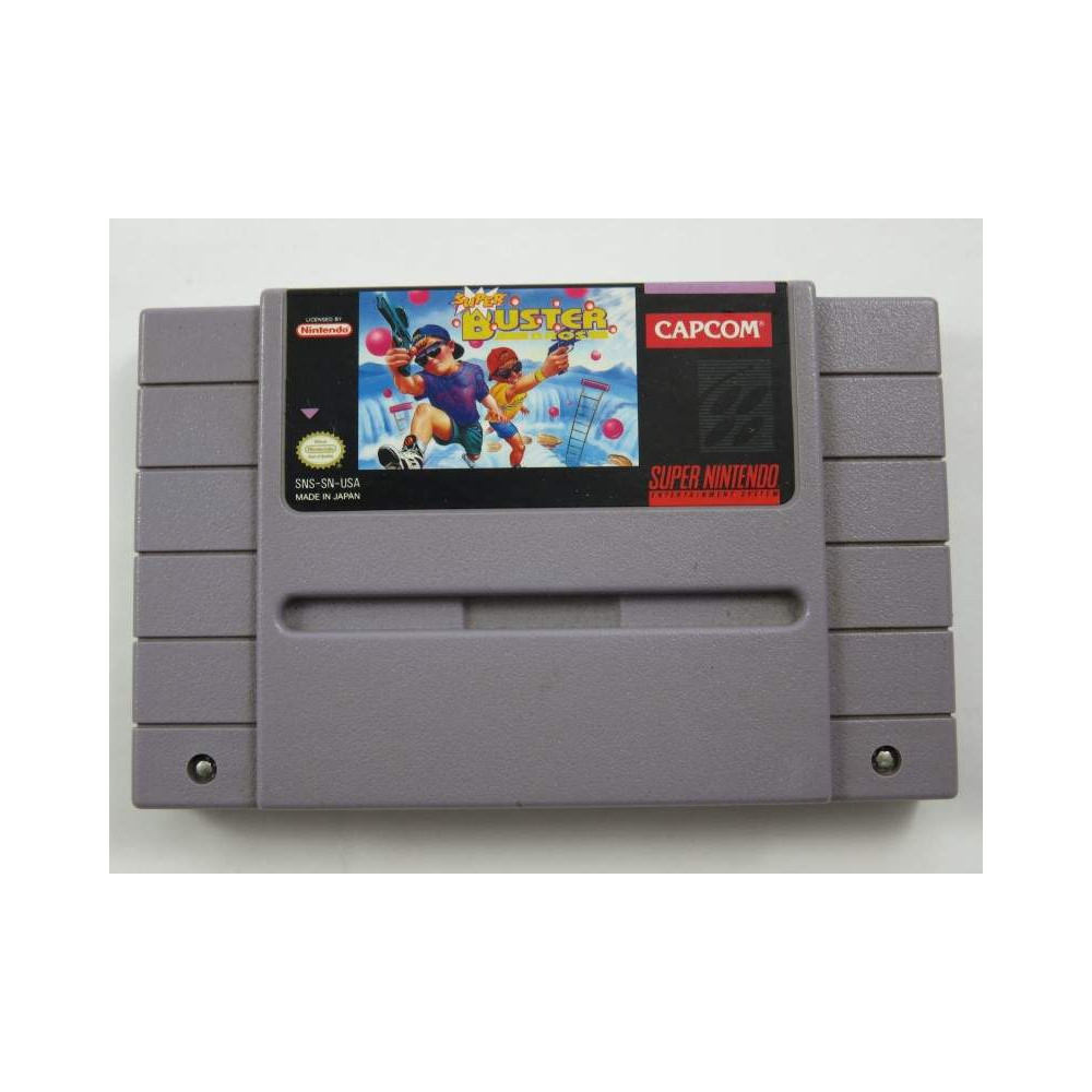 SUPER BUSTER BROS SNES NTSC-USA OCCASION