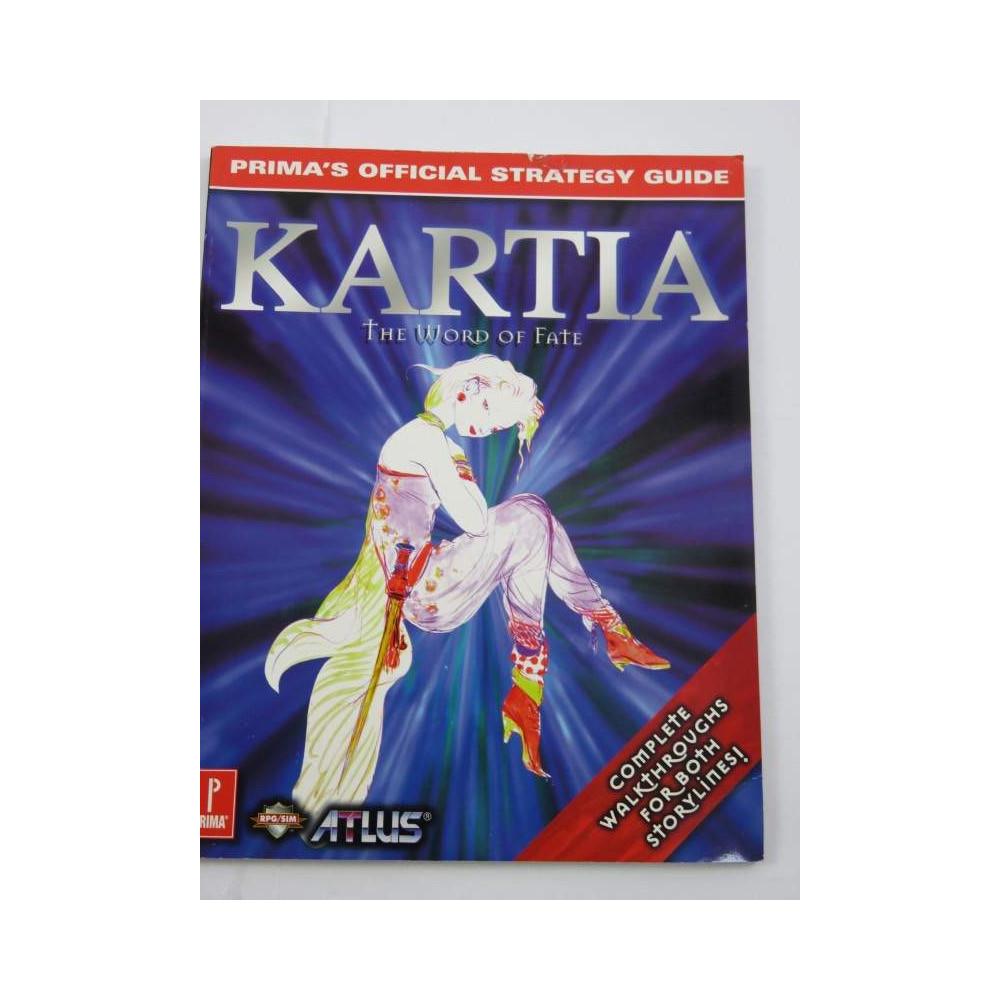 GUIDE KARTIA THE WORLD OF FATE BOOK USA OCCASION