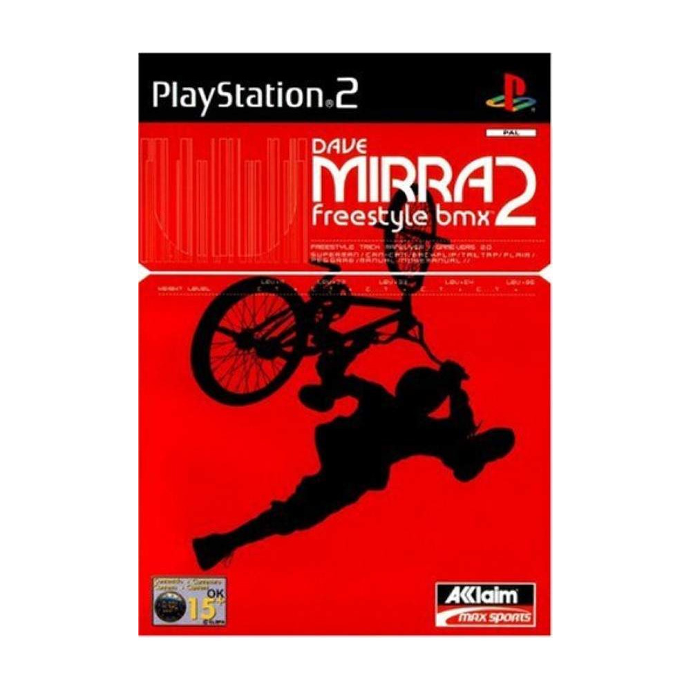DAVE MIRRA FREESTYLE BMX 2 PS2 PAL-FR OCCASION