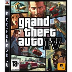 GRAND THEFT AUTO IV (GTA) PS3 FR OCCASION