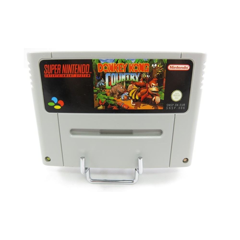 DONKEY KONG COUNTRY SNES PAL EUR LOOSE