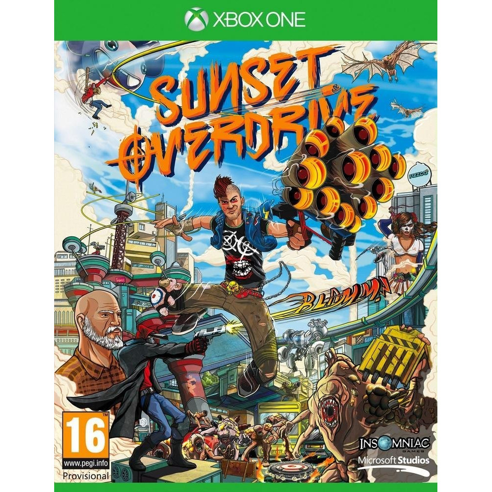 SUNSET OVERDRIVE XBOX ONE FR OCCASION