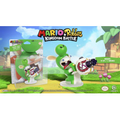 FIGURINE MARIO + THE LAPINS CRETINS KINGDOM BATTLE - YOSHI 8CM
