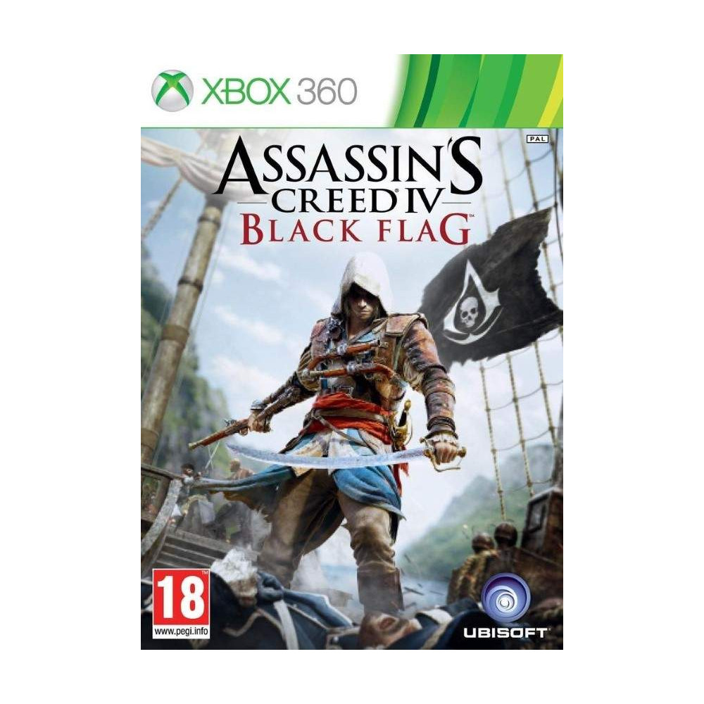 ASSASSIN'S CREED IV BLACK FLAG XBOX 360 PAL-FR OCCASION