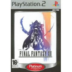 FINAL FANTASY XII PLATINUM PS2 PAL-FR OCCASION