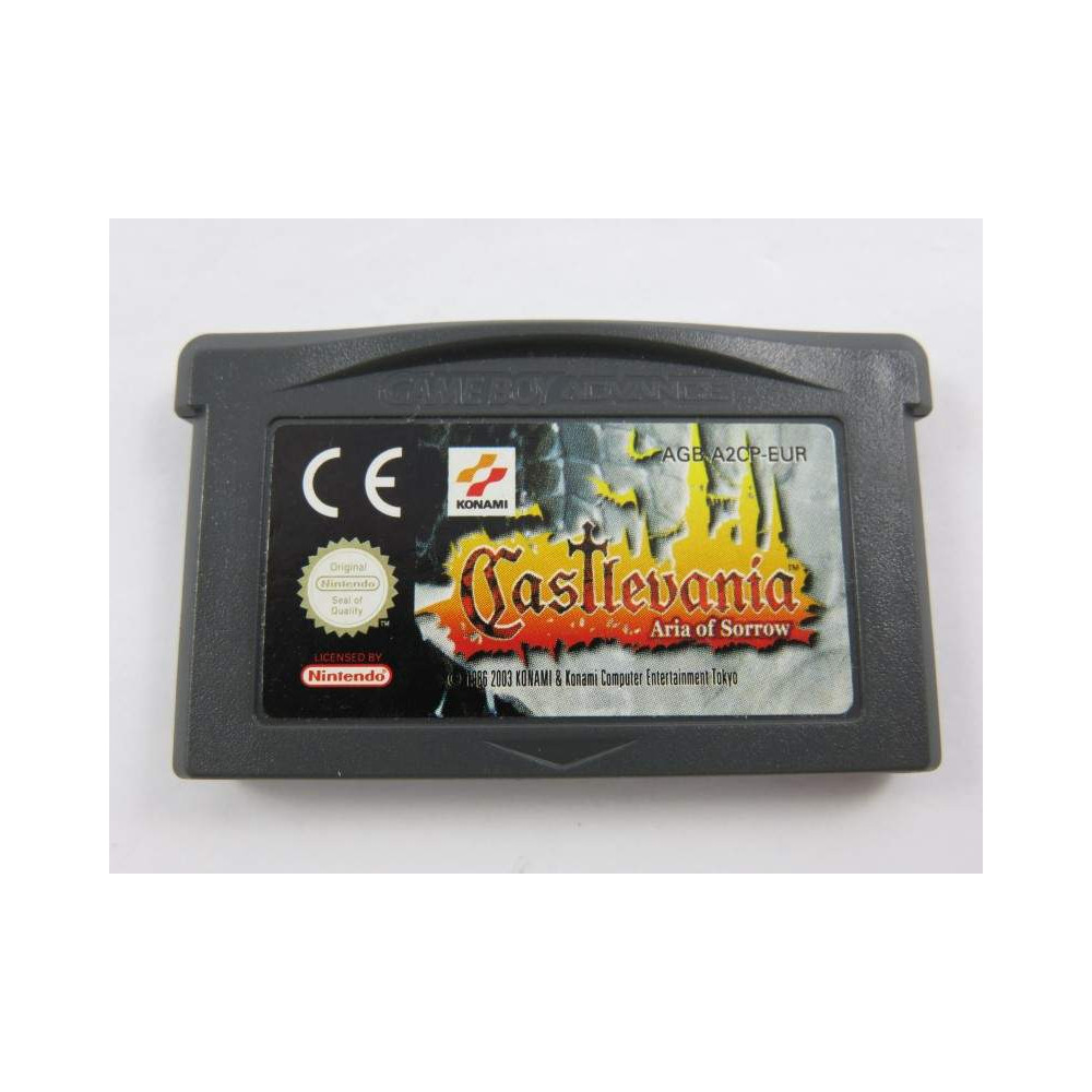 CASTLEVANIA ARIA OF SORROW GBA EUR LOOSE