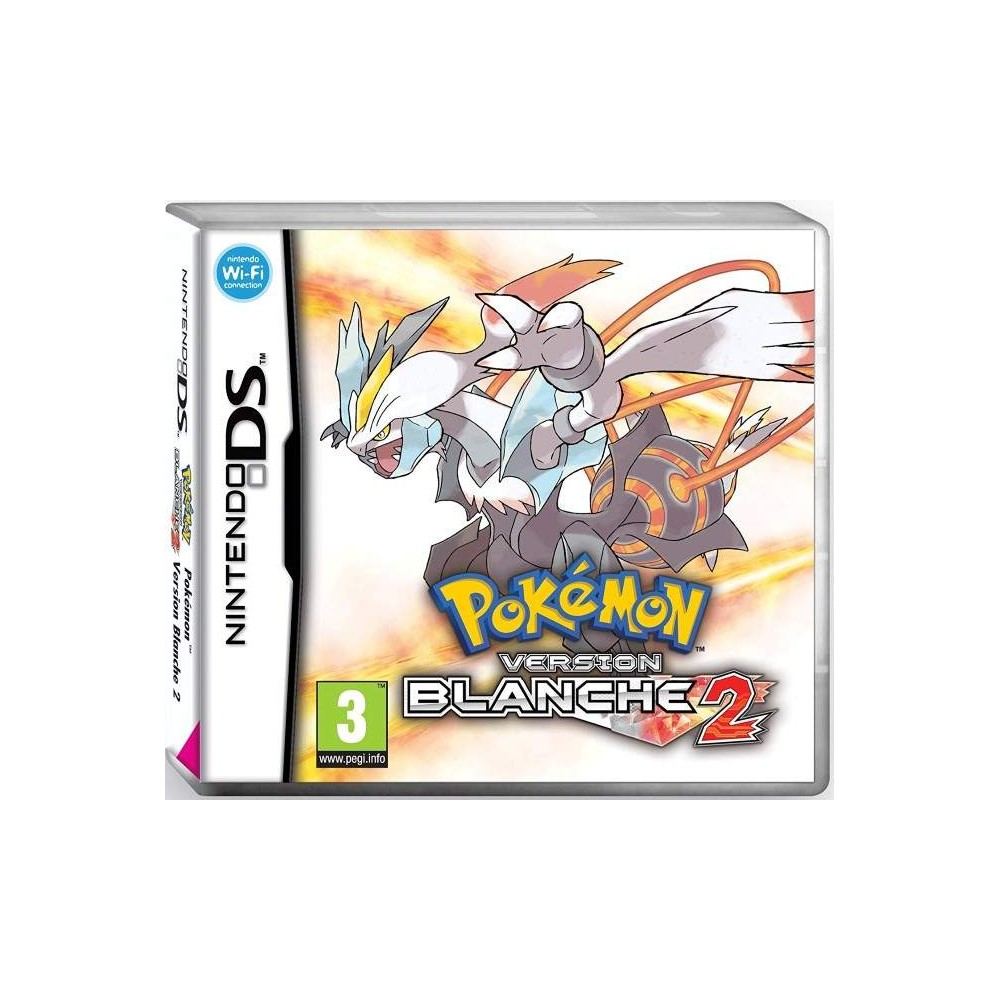 POKEMON VERSION BLANCHE 2 NDS FR OCCASION