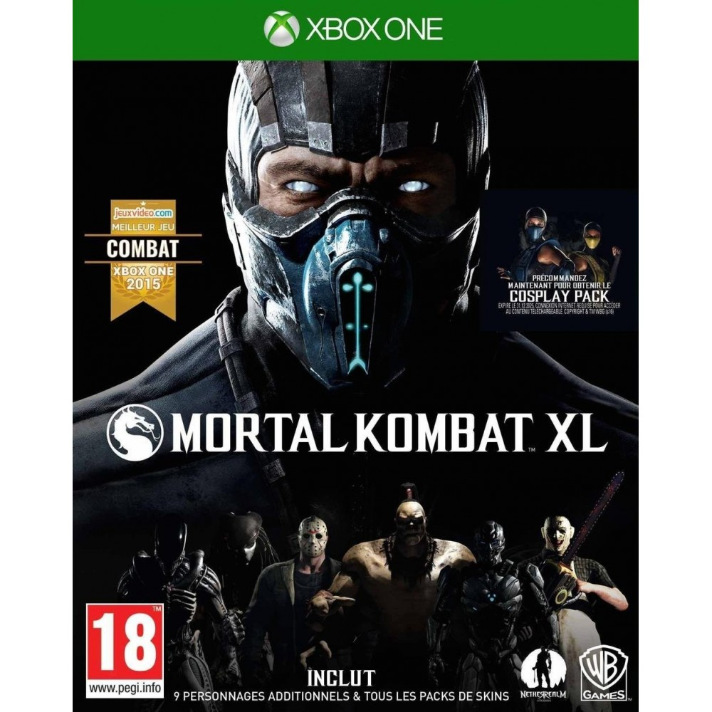 MORTAL KOMBAT XL XONE VF
