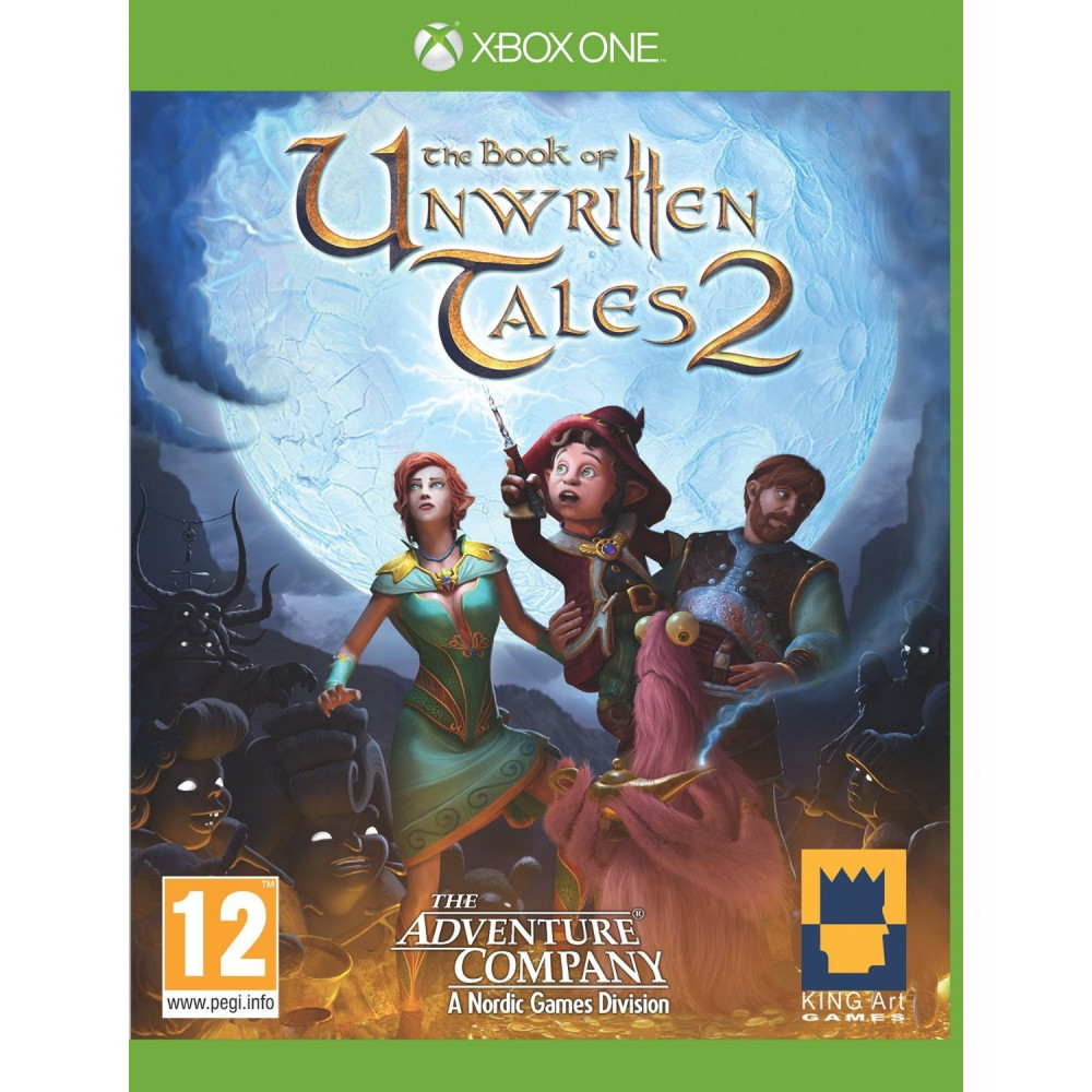 BOOK OF UNWRITTEN TALES 2 XONE PAL