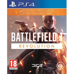 BATTLEFIELD 1 REVOLUTION PS4 FR NEW