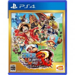 ONE PIECE: UNLIMITED WORLD R DELUXE EDITION PS4 NTSC-JPN NEW