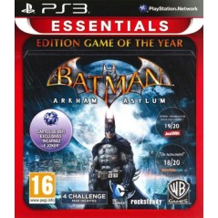 BATMAN ARKHAM ASYLUM EDITION GAME OF THE YEAR ESSENTIALS PS3 FR OCCASION