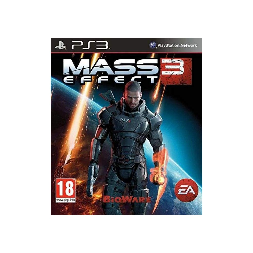 MASS EFFECT 3 PS3 FR OCCASION
