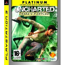 UNCHARTED DRAKE'S FORTUNE (PLATINUM) PS3 FR OCCASION