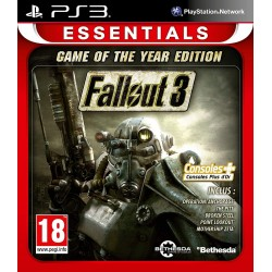 FALLOUT 3 GOTY ESSENTIALS PS3 PAL-FR OCCASION