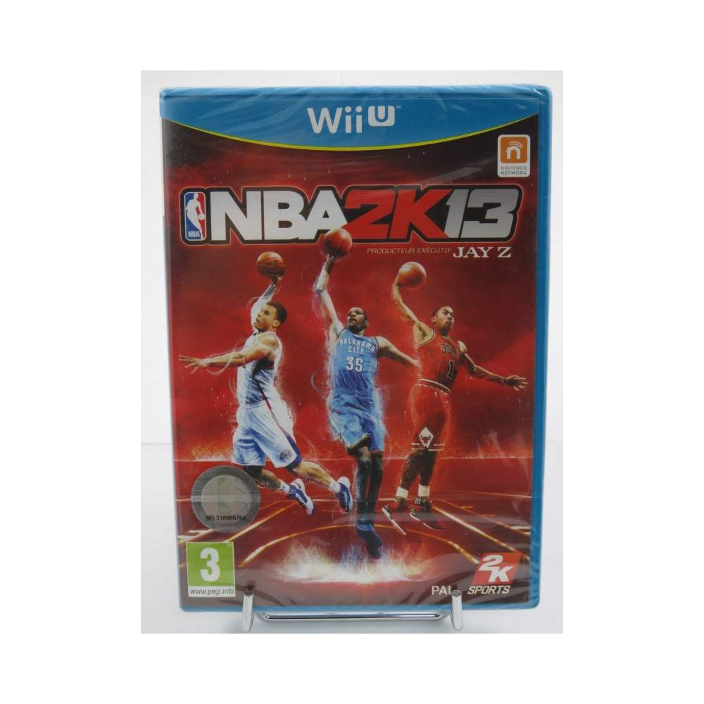 NBA 2K13 WIIU FR NEW