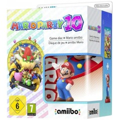 MARIO PARTY 10 WII U + AMIIBO PAL-EURO OCCASION