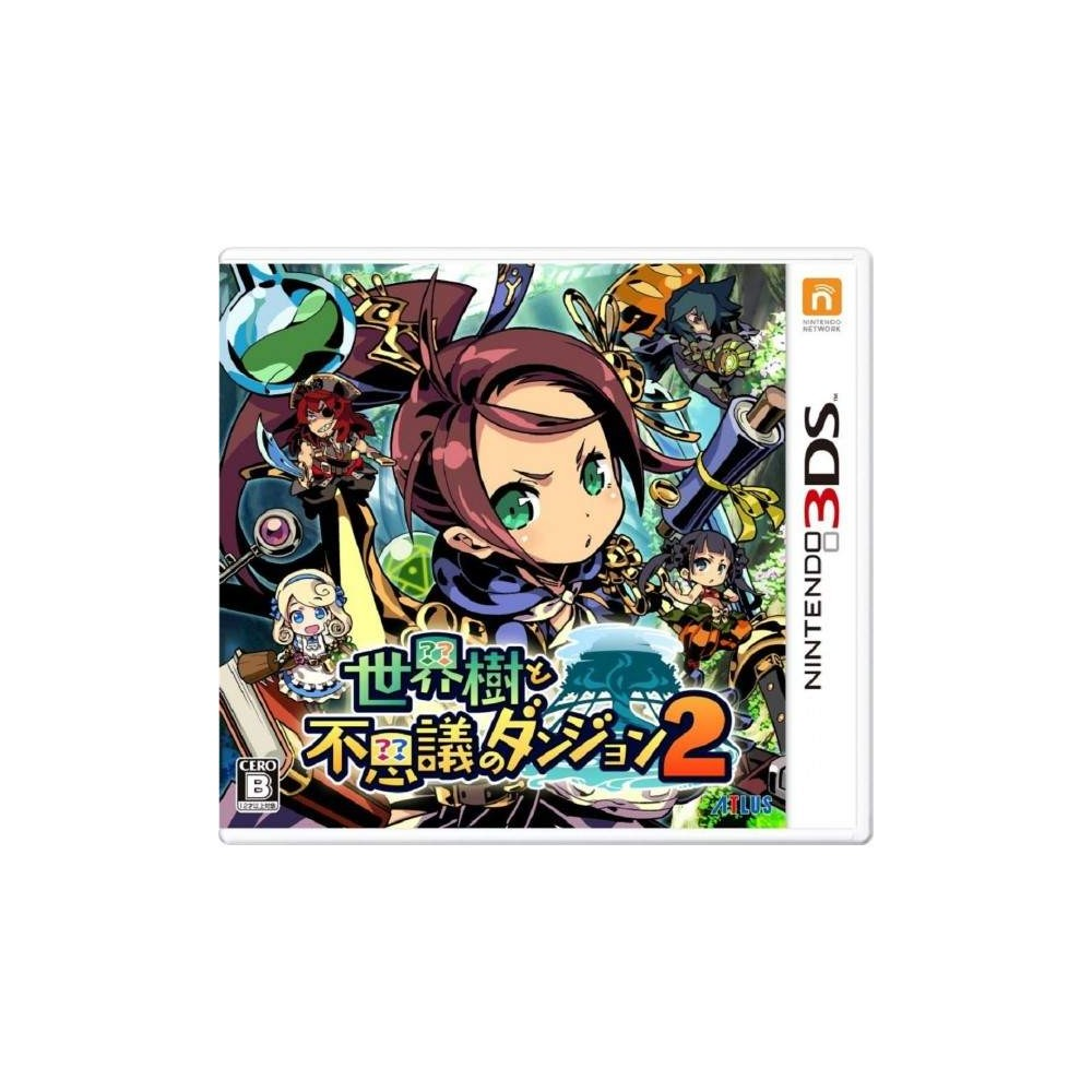 SEKAIJU TO FUSHIGI NO DUNGEON 2 3DS JPN NEW