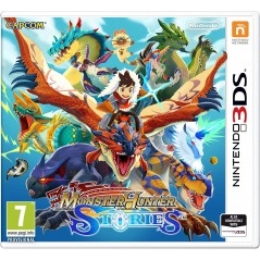 MONSTER HUNTER STORIES 3DS EURO UK NEW
