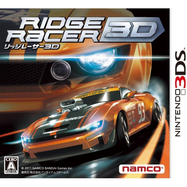 RIDGE RACER 3D 3DS JPN OCCASION