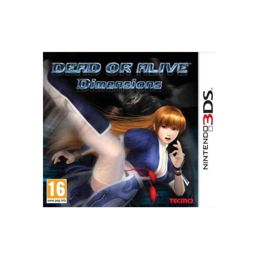 DEAD OR ALIVE DIMENSIONS 3DS PAL-FR OCCASION