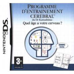 PROGRAMME D'ENTRAINEMENT CEREBRAL NDS FR OCCASION