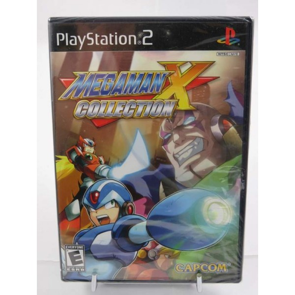 MEGAMAN X COLLECTION PS2 NTSC-USA NEW