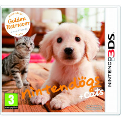 NINTENDOGS + CATS RETRIEVER 3DS FR OCCASION