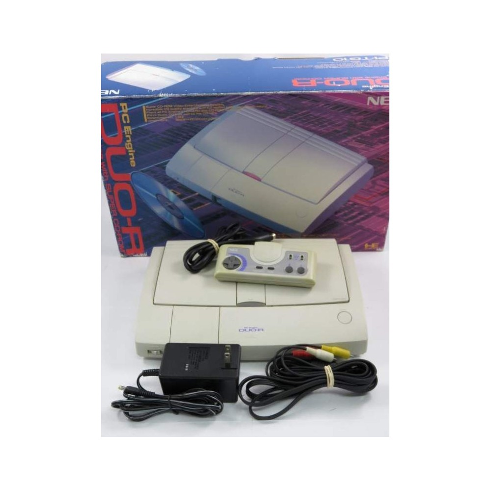 CONSOLE NEC PC ENGINE DUO R EN BOITE JPN OCCASION