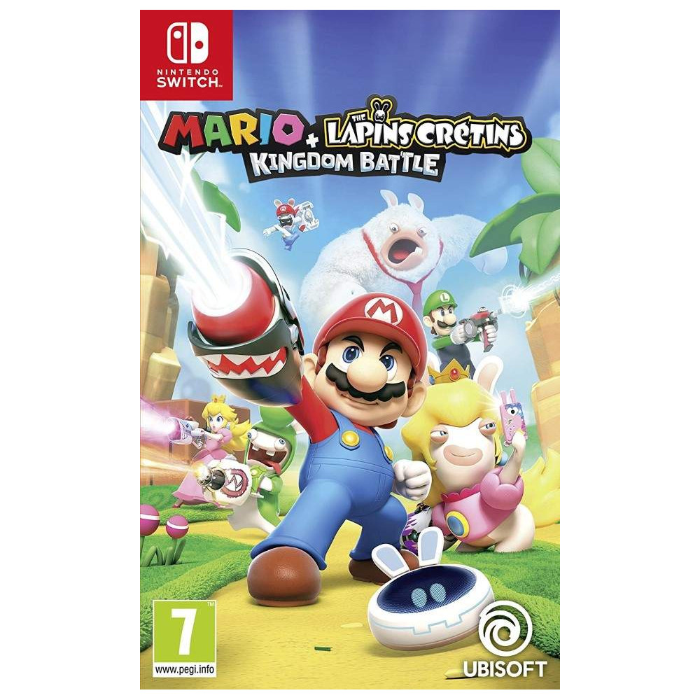 MARIO + RABBIDS KINGDOM BATTLE SWITCH EURO FR NEW